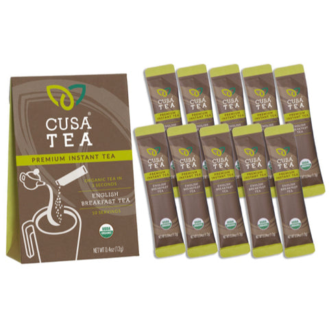 Organic English Breakfast Tea by Cusa Tea