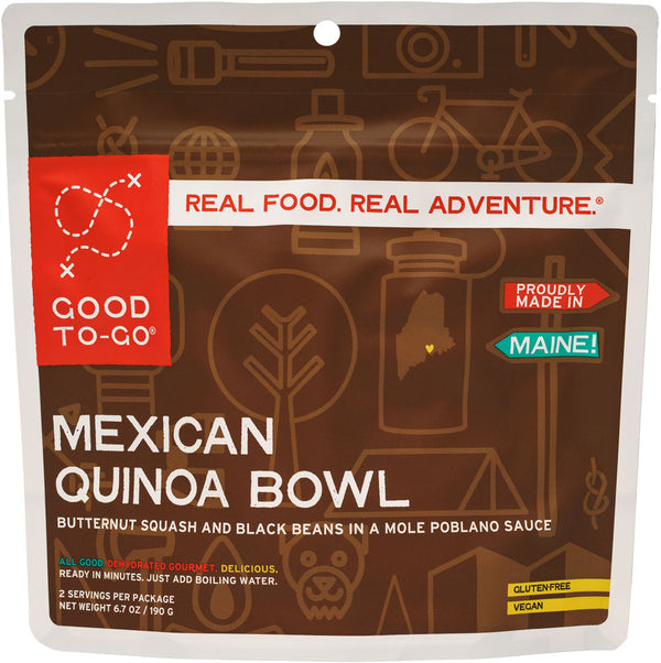 Mexican Quinoa Bowl by Good To-Go