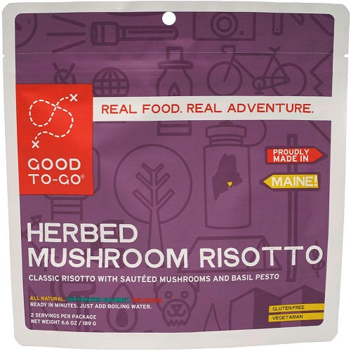 Herbed Mushroom Risotto by Good To-Go