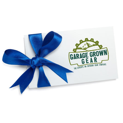 Gift Card - Garage Grown Gear