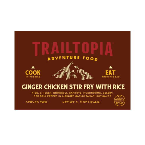 Ginger Chicken Stir Fry by Trailtopia