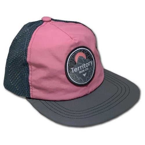 territory run gorge hat pink