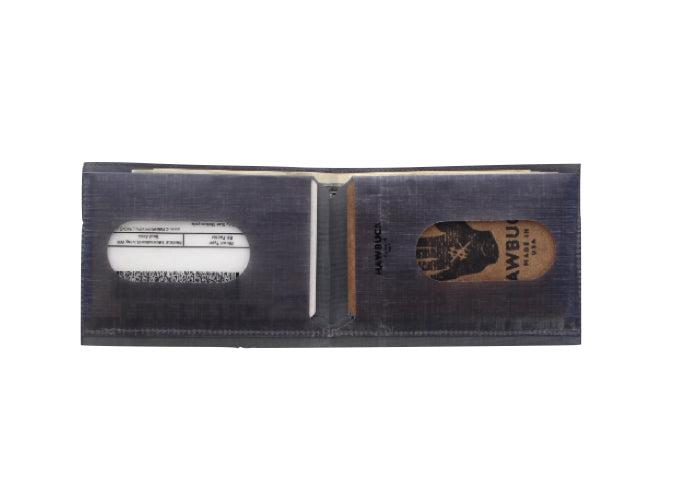 Lean Wallet Grey by Hawbuck