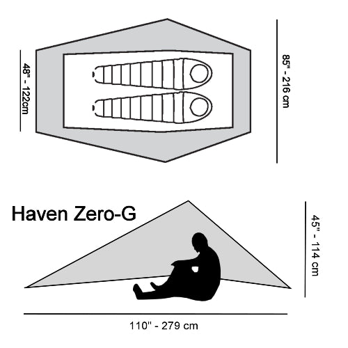 Haven Zero-G by Six Moon Designs
