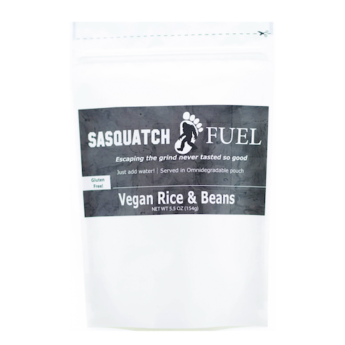 Vegan Rice and Beans by Sasquatch