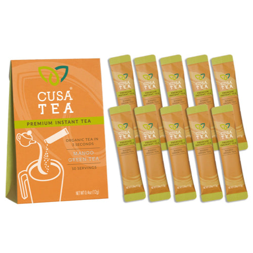 Mango Green Instant Tea by Cusa Tea