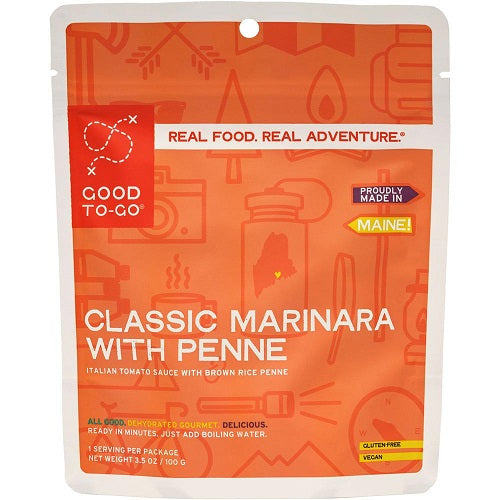 Classic Marinara with Pasta by Good To-Go