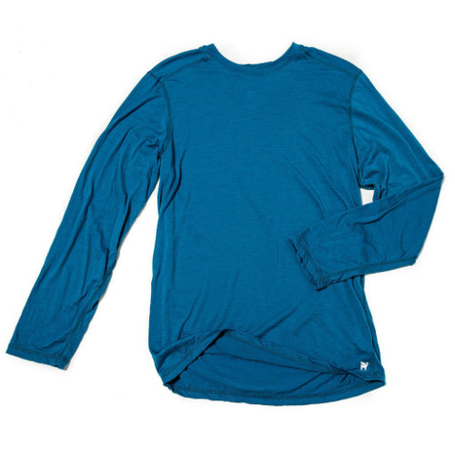 Men's Transit Long Sleeve by Borealis Wool Co.