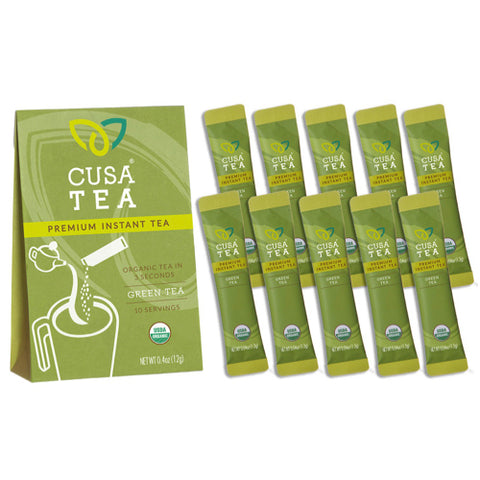 Organic Green Tea by Cusa Tea