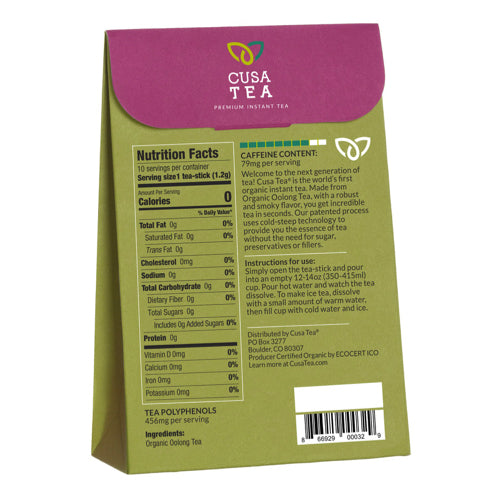 Organic Oolong Tea by Cusa Tea