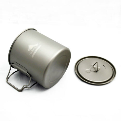 Titanium 650ml Pot by Toaks