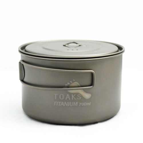 Titanium 700ml Pot by Toaks