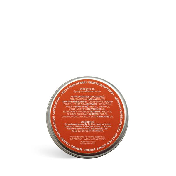 Pain Relief Salve (.7oz) by Green Goo