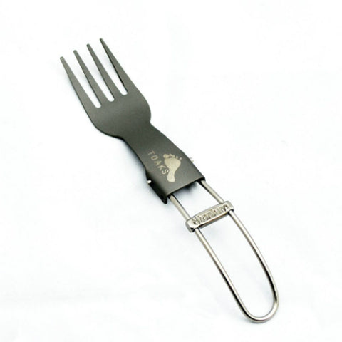 Titanium Folding Fork by Toaks