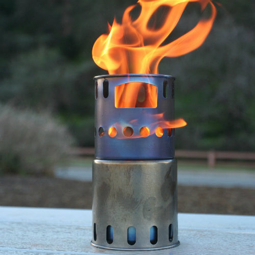 Titanium Backpacking Wood Burning Stove by Toaks