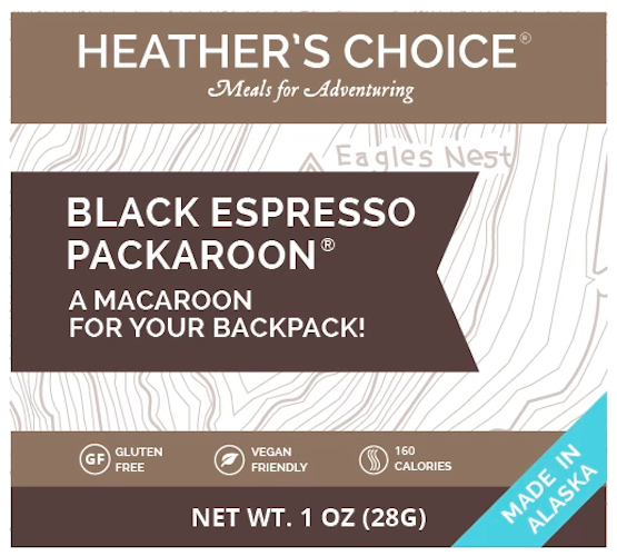 Black Espresso Packaroons by Heather's Choice