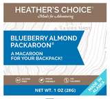 Blueberry Almond Packaroons by Heather's Choice