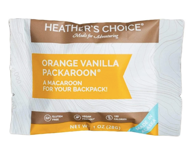 Orange Vanilla Packaroons by Heather's Choice