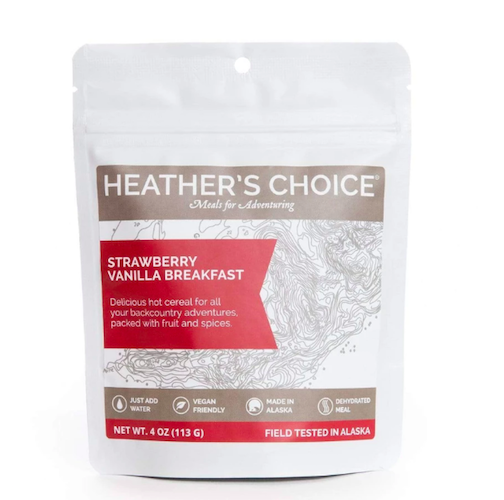 Strawberry Vanilla Breakfast by Heather's Choice