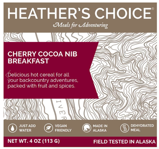 Cherry Cocoa Nibs Breakfast by Heather's Choice