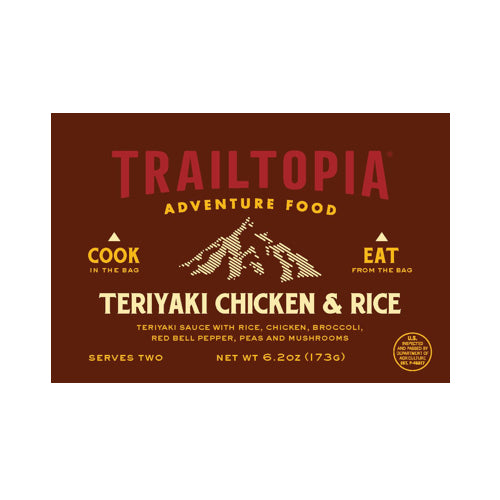 Teriyaki Chicken & Rice by Trailtopia