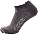 No - Show Light Cushion Running Socks by Cloudline Apparel