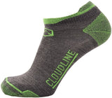 No - Show Ultra Light Cushion Running Socks by Cloudline Apparel