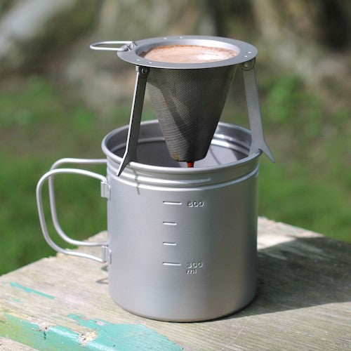 Titanium Travel Coffee Filter by Vargo Outdoors