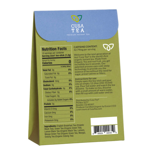 Variety Pack Instant Tea by Cusa Tea