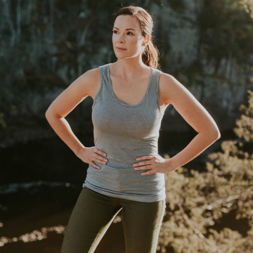 Women's Lotus Tank by Borealis Wool Co.