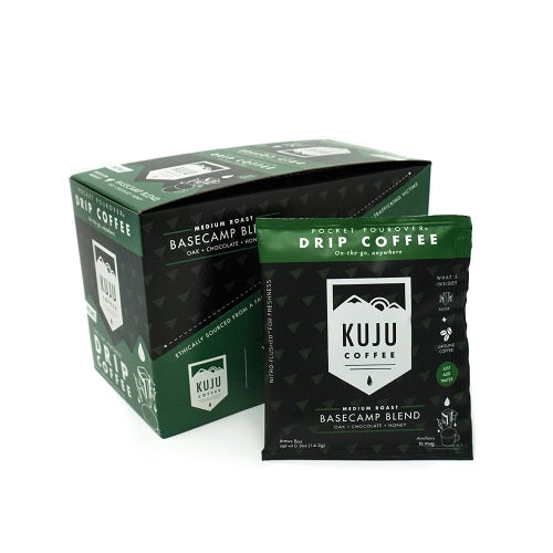 Portable Pour Over Coffee Kuju Coffee Single Serve Disposable Backpacking Outdoors