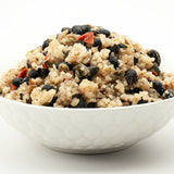 Coconut Rice and Cuban Black Beans by Food for the Sole