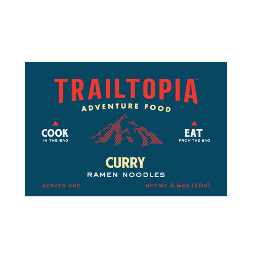 Curry Ramen Noodles by Trailtopia