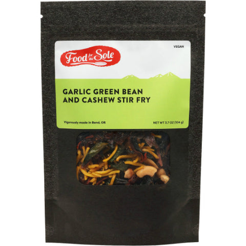 Garlic Green Bean and Cashew Stir Fry by Food for the Sole