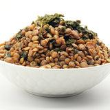 Lentil Walnut Pilaf with Kale by Food for the Sole