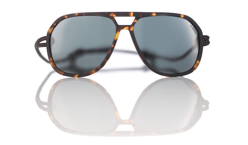 Tortoise Armless Sunglasses by Ombraz Sunglasses
