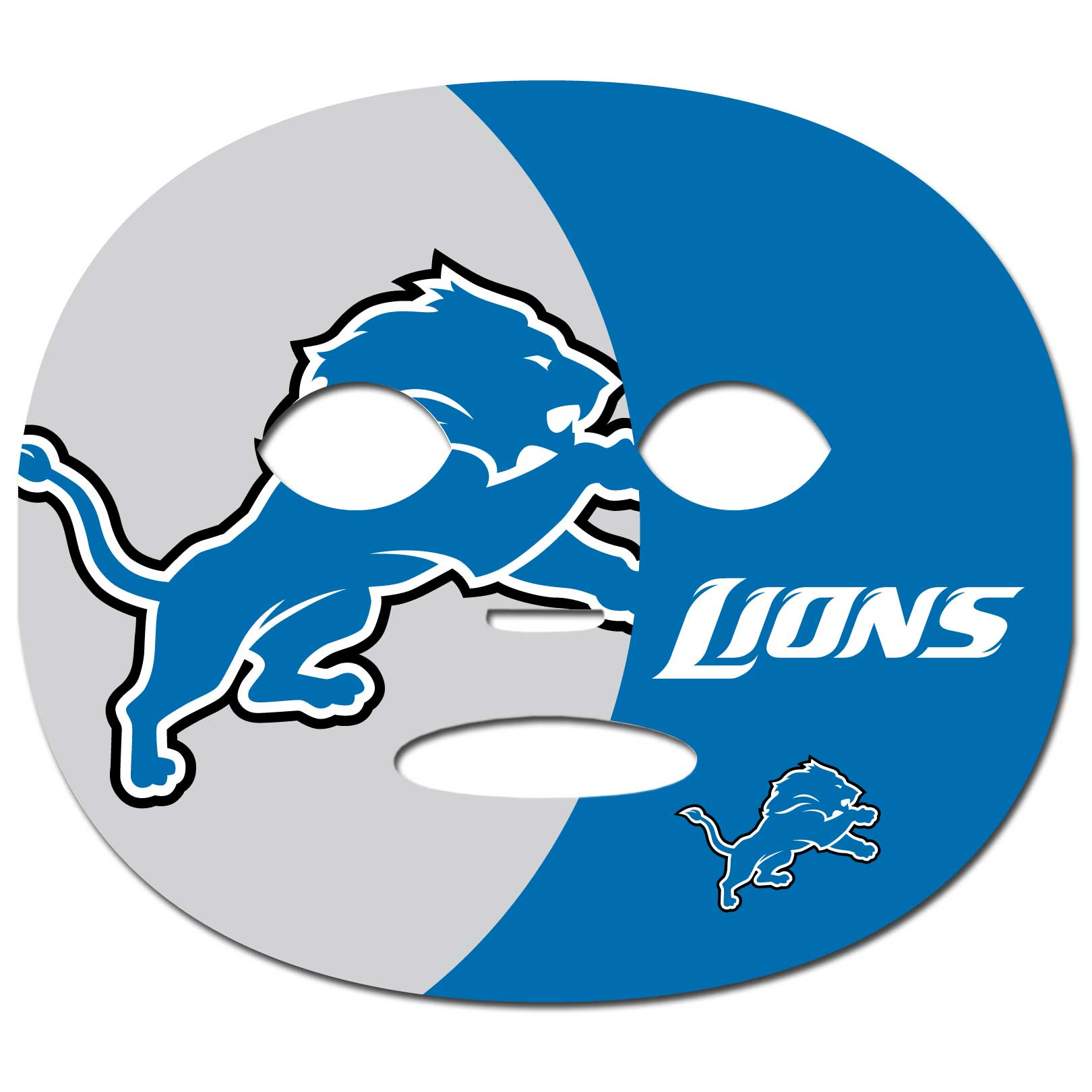 Detroit Lions Game Face Temporary Tattoo