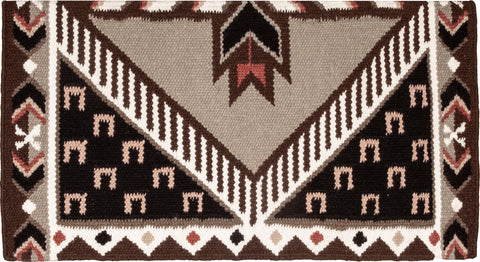 Good Medicine Saddle Blanket - Pony Tracks