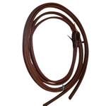 Heavy Oil Double Stitched Split Reins - 1/2 ""