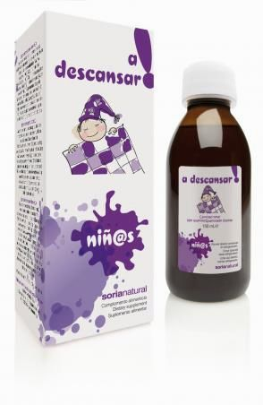 A descansar! jarabe niños 150 ml - Soria Natural