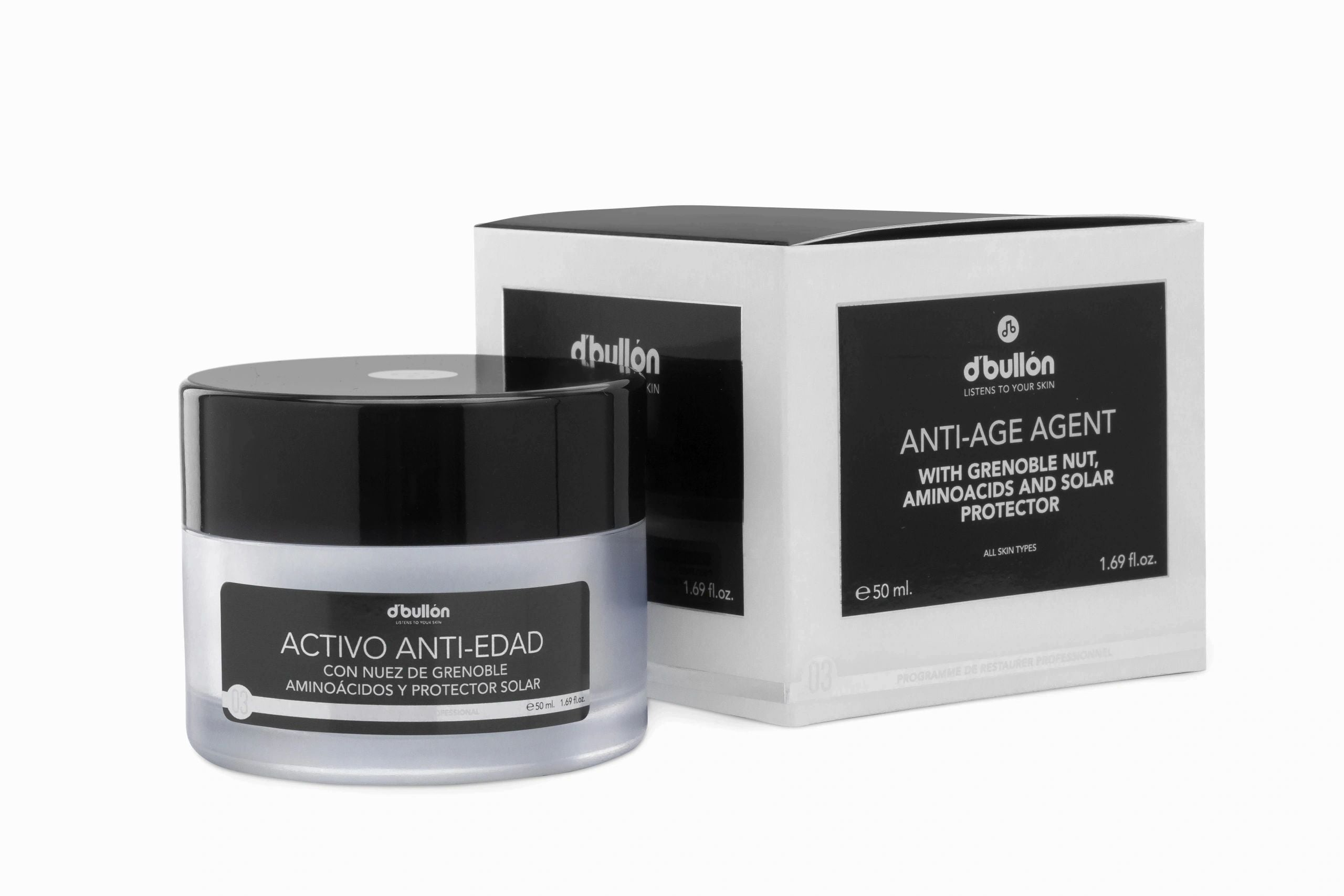 Crema Activo Anti-Edad 50 ml - Bullon Valquer