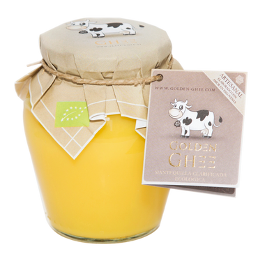 Golden Ghee - Mantequilla Clarificada Eco - 370ml