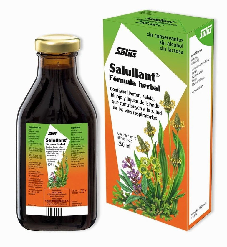 Salullant Fórmula Herbal 250 ml - SALUS