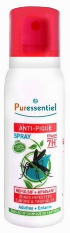 SPRAY ANTI-PIC repelente y calmante 75 ml - PURESSENTIEL