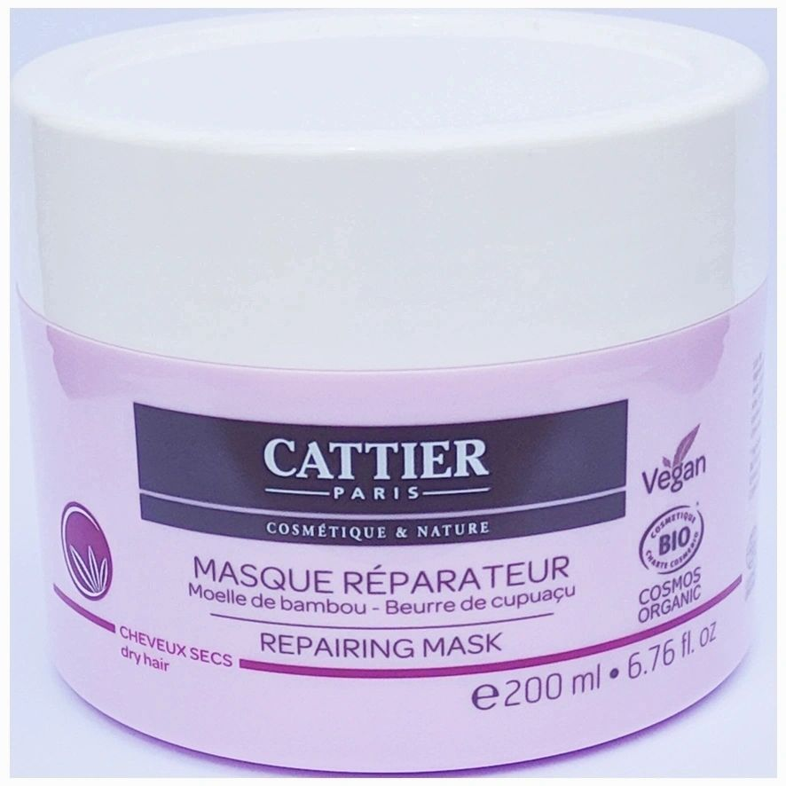 MASCARILLA REPARADORA CABELLO SECO 200ML - CATTIER