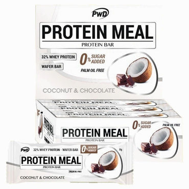 Barritas Protein Meal Coco Con Chocolate - Pwd