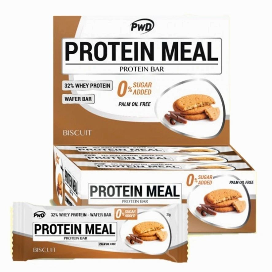 Barritas Protein Meal Sabor Galleta Maria Pwd