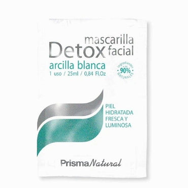 MASCARILLA FACIAL DETOX  25ml - Prisma Natural