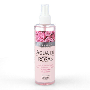 AGUA DE ROSAS SPRAY BIFEMME 250 ML - Ynsadiet