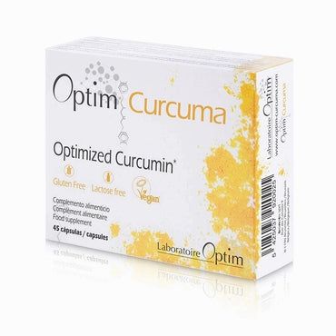 Optim Curcuma 45 cápsulas - Optim